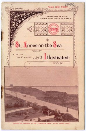 St.Annes-on-the-Sea Guide c1894