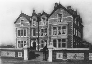 The purpose-built school building was erected by Porritts on North Promenade, St.Annes in 1887.