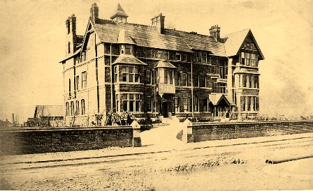 The St.Annes Hotel, St.Annes-on-the-Sea, pictured c1880.