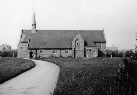 St.Annes Church, Heyhouses, St.Annes-on-the-Sea c1885