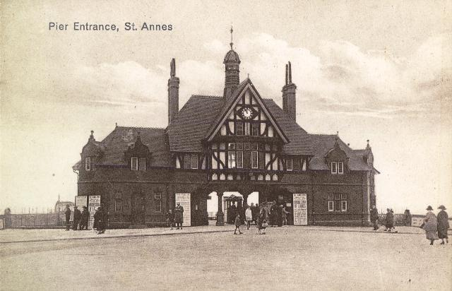 St.Annes Pier Entrance c1916