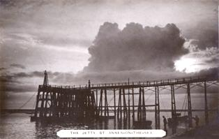 The Jetty, St.Annes Pier c1910.
