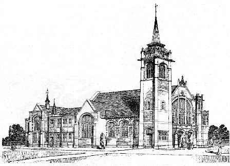 Primitive Methodist Church, St.Annes-on-Sea, 1910.