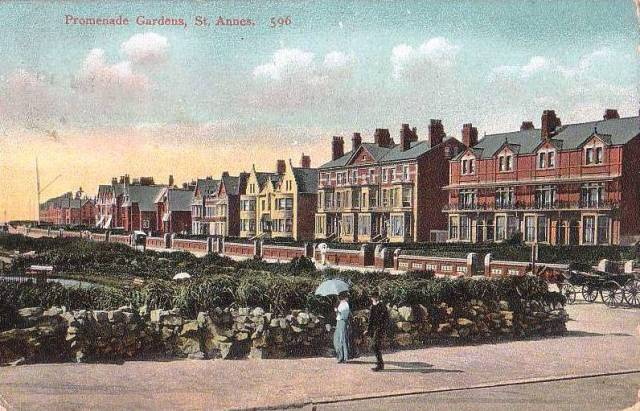 South Promenade, St.Annes c1904.