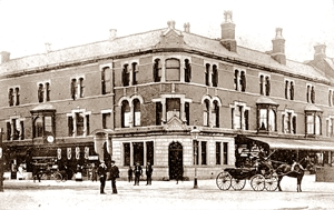 In the 1890s the St.Annes-on-the-Sea Urban District Council had offices in Park Road at the corner with St.Annes Square. This block of shops and offices was known as 'St.Annes Square.'
