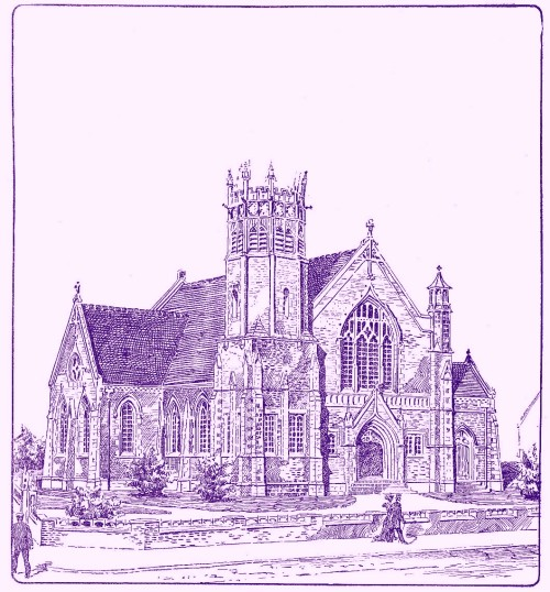 The new Wesleyan Methodist Church, St.Annes-on-Sea, 1904.
