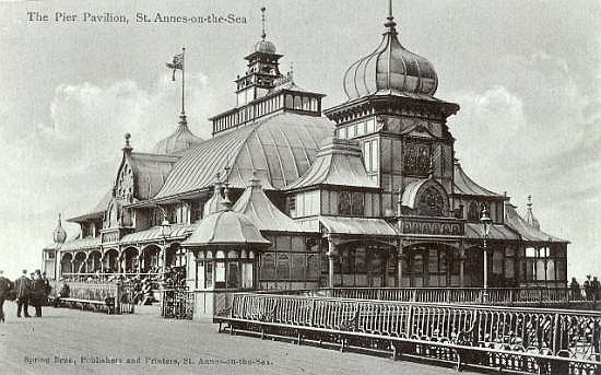 The Moorish Pavilion Theatre 1904.