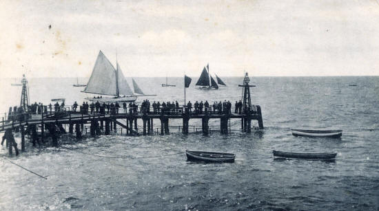 The Jetty, St.Annes Pier c1904