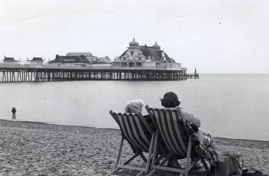 Photo of St.Annes Pier c1968