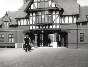 The Pier Entrance, St.Annes, 1899.