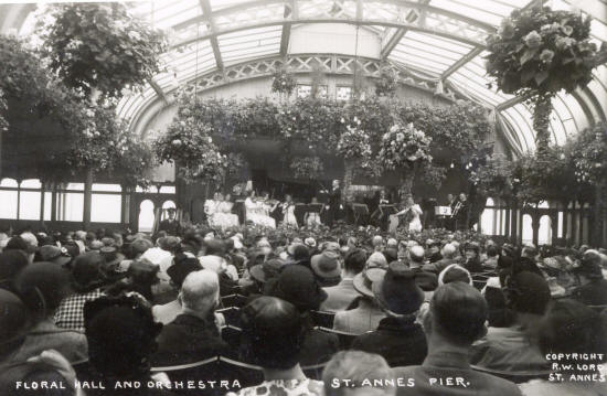 The Floral Hall in the 1930s