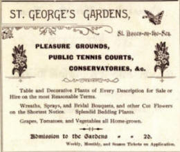 As these gardens were operated by a private company there was an admission charge.