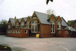 St John's School, Lytham, viewed from the playground.