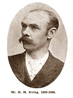R.H.Irving, Chairman of St.Annes Urban District Council 1899-1900