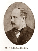 John Dent Harker, Chairman of St.Annes Urban District Council 1900-1901