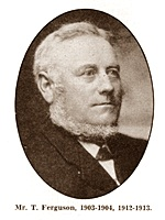 Thomas Ferguson, Chairman of St.Annes Urban District Council 1903-1904