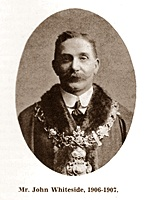 John Whiteside, Chairman of St.Annes Urban District Council 1906-1907