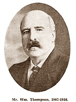 William Thompson, Chairman of St.Annes Urban District Council 1907-1910