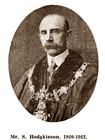 Sam Hodgkinson, Chairman of St.Annes Urban District Council 1910-1912