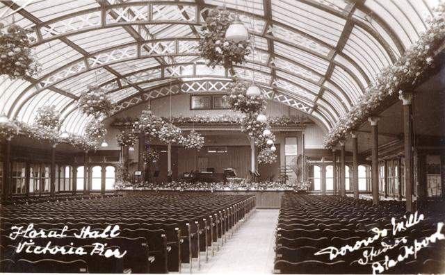 Photograph of the Floral Hall, Victoria (South) Pier, Blackpool.