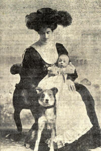 Violet Clifton and Henry (Harry) Clifton in 1908.