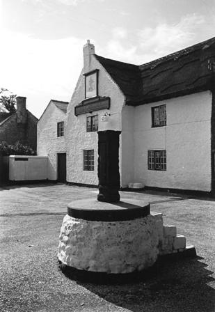 Photo of the Eagle and Child, Weeton, and the interior of a smithy, possibly at Weeton. The photos date from the 1940s or 1950s.