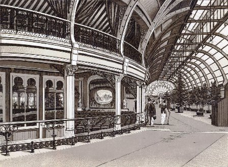 The Winter Gardens, Blackpool, opened in 1878.